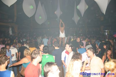 Cocoon at Amnesia, the Terrace