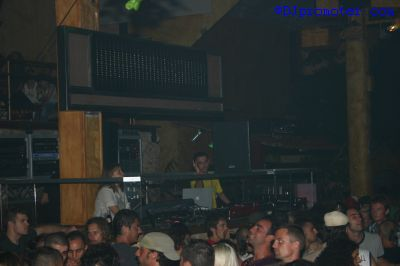 Cocoon at Amnesia, DJ box in the Terrace