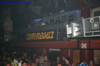 Cocoon at Amnesia, DJ box in main room