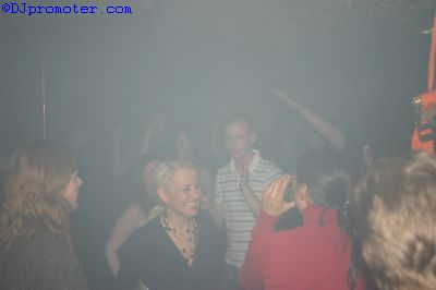 Clubbers on dance floor