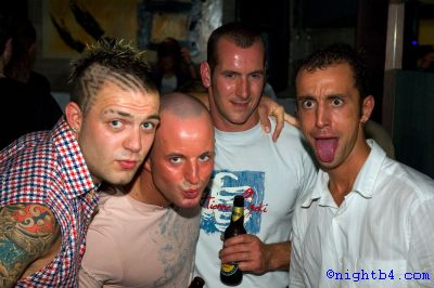 4 lads at Q Club